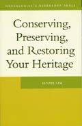 Conserving, Preserving, and Restoring Your Heritage Cover