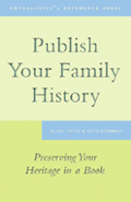Publish Your Family HistoryCover