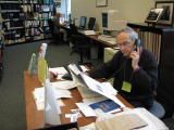 Quinte Branch volunteers assist visitors on-site and carry out research by correspondence
