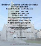 Hastings and Prince Edward Counties, United Church Records