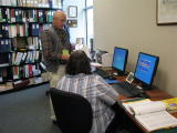 Computerized finding aids can quickly locate ancestors in the library holdings!